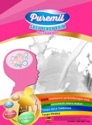 Susu Puremil sesuai untuk umur 1-3 tahun sahaja ke?