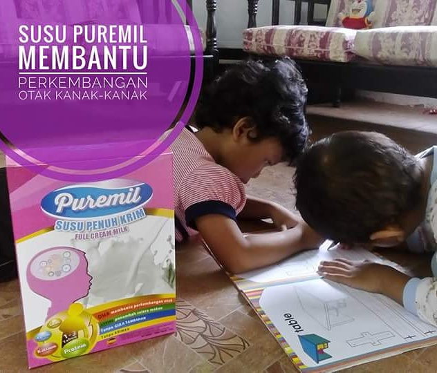 Susu Puremil baik untuk minda