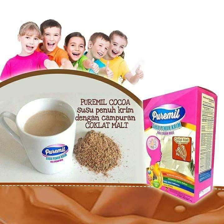 Puremil Coklat berkualiti